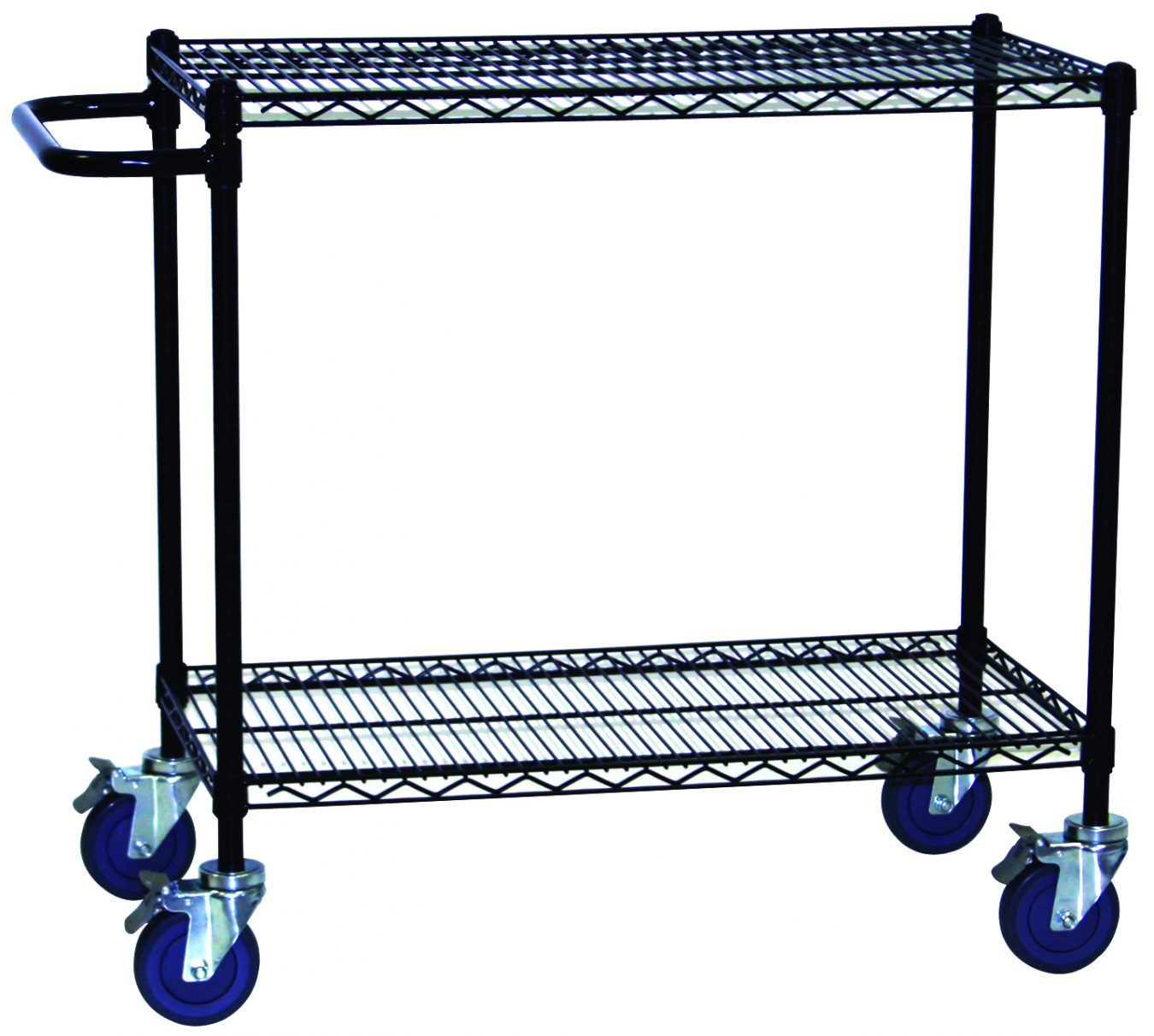 Black Wire Carts with Push Handle