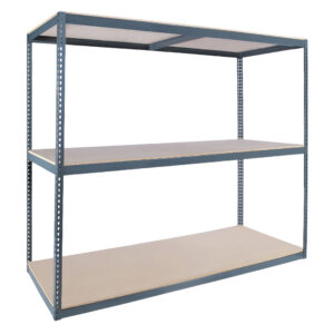 Series 1 Rivet System® Boltless Shelving - 7' High 1500 - 2000 lb Capacity per Shelf