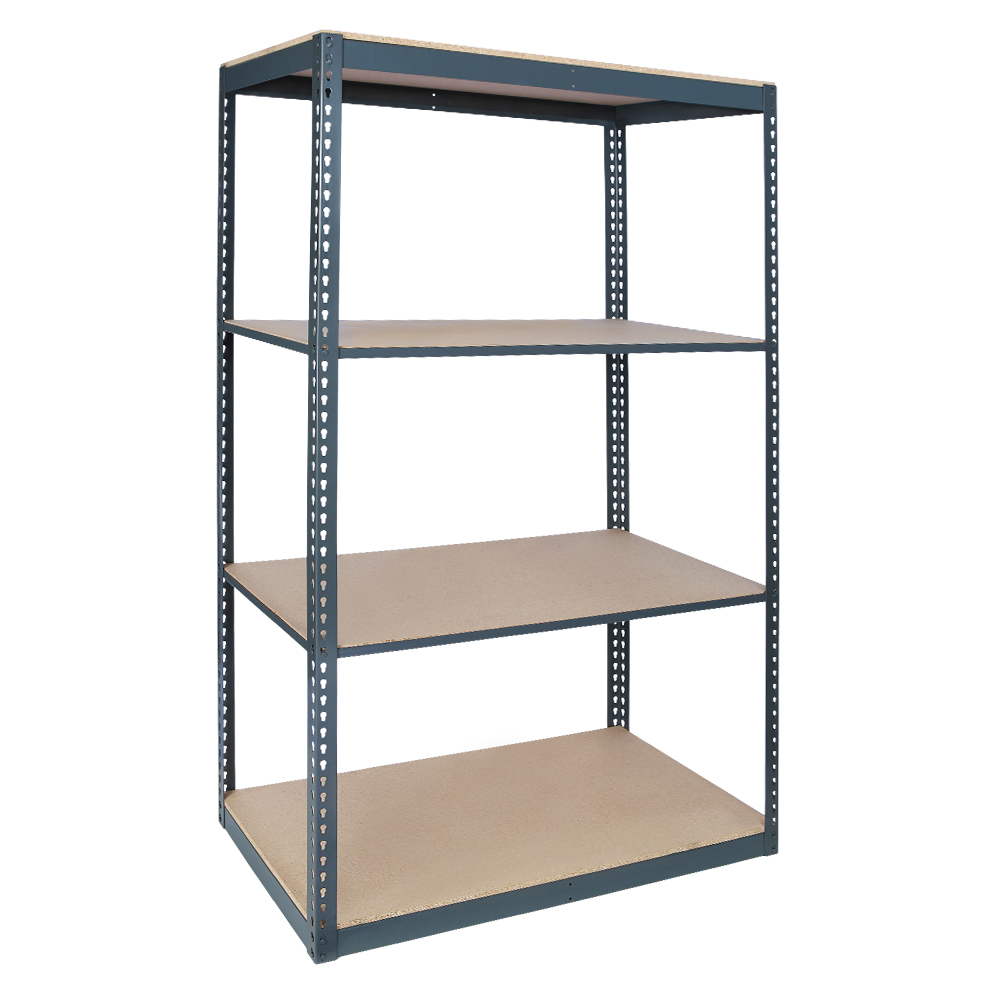 Series 3 Rivet System® Boltless Shelving - 6' High 300 - 600 lb Capacity per Shelf