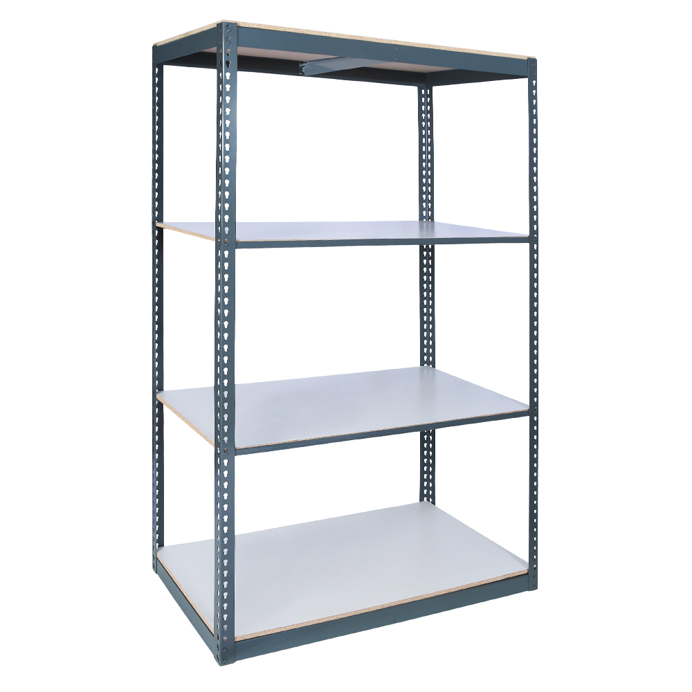 Series 5 Rivet System® Laminated Decking - 6' High 275 - 600 lb Capacity per Shelf