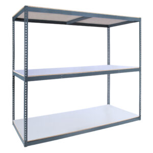 Series 6 Rivet System® Laminated Decking - 6' High 600 - 2000 lb Capacity per Shelf