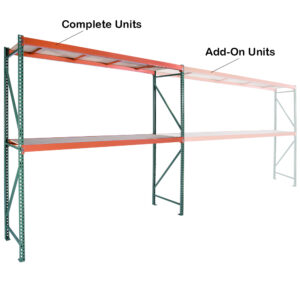 Complete Units with Wood Decking - 6' High